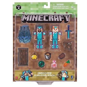 Minecraft Delüks Figür Steve ve Alex