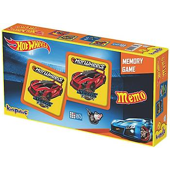 Kýrkpapuç Hot Wheels Memo Çocuk Puzzle