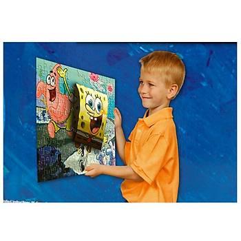 Mega Puzzle 110 Parça 3 Boyutlu Puzzle Breakthrough Sponge Bob 1