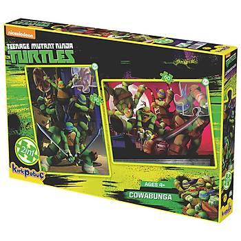 Kýrkpapuç Ninja Turtles Cowabunga Çocuk Puzzle