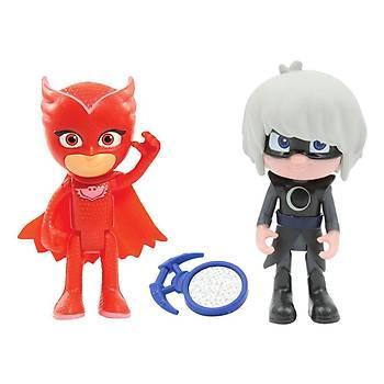 PJ Maskeliler Owlette ve Luna Girl Ýkili Figür