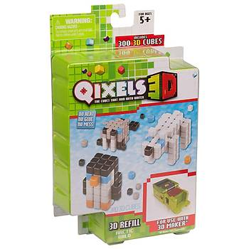Qixels Arctic Wild 3D Yedek Paket