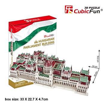 Cubic Fun 3D 237 Parça Puzzle Parlemento Binasý - Macaristan