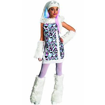 Monster High Abbey Bominable Çocuk Kostümü 8-10 Yaþ