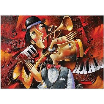 Art Puzzle 1000 Parça Puzzle Jazz