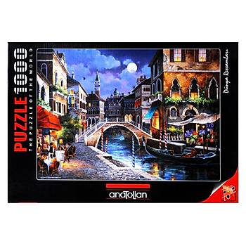Anatolian 1000 Parça Puzzle venedik Sokaklarý