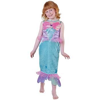 Deniz Kýzý Prenses Ariel Çocuk Kostüm 3-4 Yaþ Royale