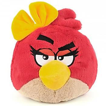 Angry Birds Kýz Sesli Peluþ 12 cm