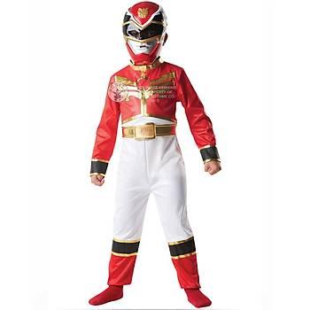 Power Rangers Red Ranger Klasik Çocuk Kostümü 5-6 Yaþ