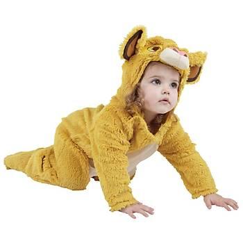Aslan Kral Bebek Kostüm 1-2 Yaþ
