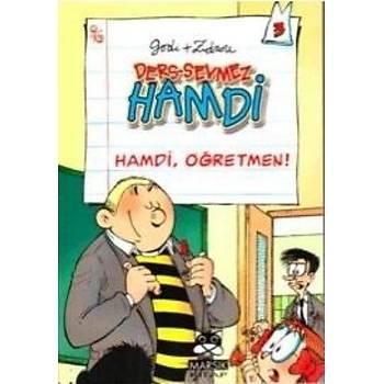 Ders Sevmez Hamdi-3: Hamdi, Öðretmen! (Cep Boy) Godi+Zidrou Marsýk Yayýncýlýk