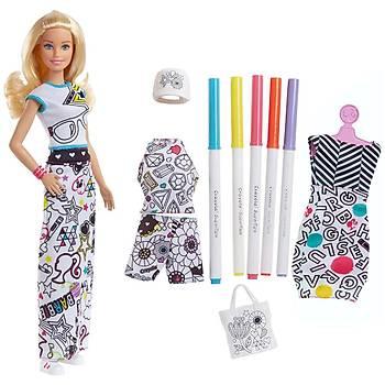 Barbie Crayola Ýle Kýyafet Tasarla Oyun Seti FPH90
