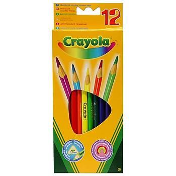 Crayola Kuru Boya Kalemi 12 Renk