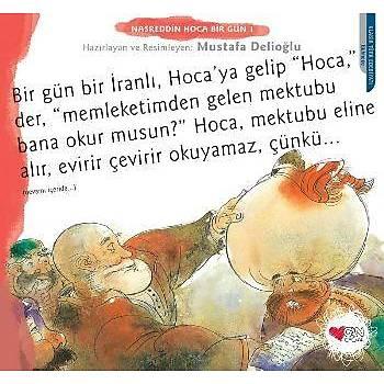 Nasreddin Hoca Bir Gün-1 Mustafa Delioðlu Can Sanat Yayýnlarý