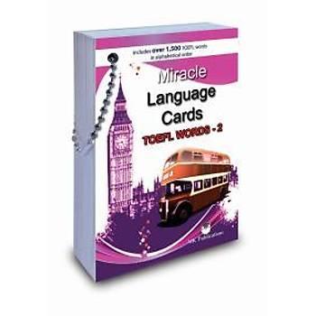 Miracle Language Cards (TOEFL Words-2) Kolektif - MK Publicationþ MK Publications