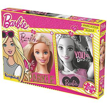 Kýrkpapuç Barbie Sparklicious Çocuk Puzzle