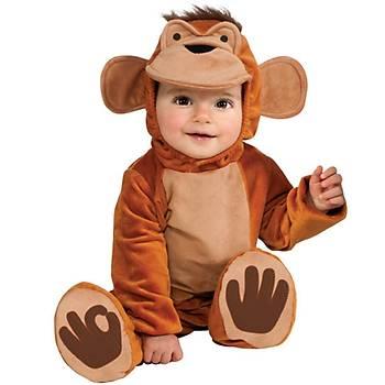 Neþeli Maymun Bebek Kostümü 6-12 AY