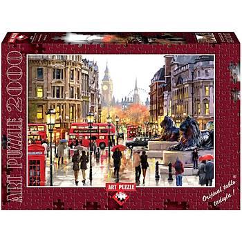 Art Puzzle 2000 Parça Puzzle Trafalgar Meydaný Londra
