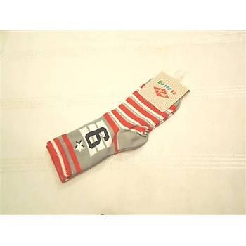 Yümese Anti-Bakteriyel Çizgili Çorap