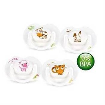 Avent 0% BPA Free Flow Yalancý Emzik 0-6 ay Truman Serisi 2li