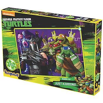 Kýrkpapuç Ninja Turtles Just Kidding Çocuk Puzzle
