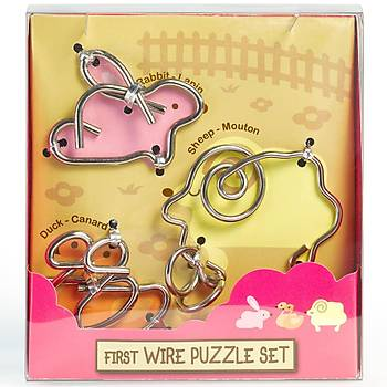 Eureka First Wire Animal 1 Set 3D Puzzle