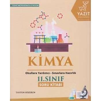 Yazýt 11. Sýnýf Kimya Soru Kitabý - YENÝ Tayfun Sözeren Yazýt Yayýnlarý