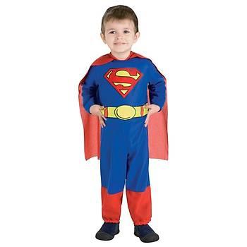 Superman Minik Klasik Kostüm 6-12 Ay