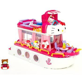 Mega Bloks Hello Kitty'nin Seyahat Gemisi Oyun Seti 10930