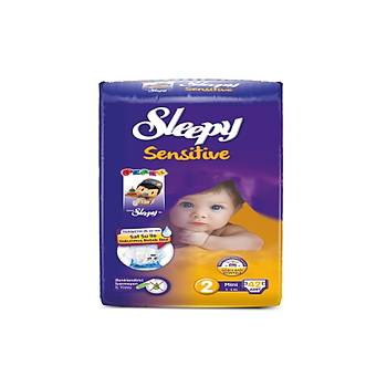 Sleepy Sensitive Mini Pepee 42 Adet (3-6 Kg) No: 2