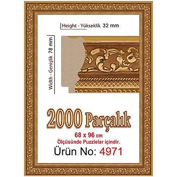 Heidi 2000 Parçalýk Puzzle Çerçevesi 96x68 cm 4971