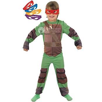 Ninja Kaplumbaðalar Çocuk Kostümü 7-8 Yaþ