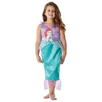 Deniz Kýzý Prenses Ariel Klasik Çocuk Kostüm 7-8  Yaþ