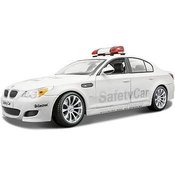 Maisto Bmw M5 Moto Gp Safety Car 1:18 Model Araba P/E Beyaz