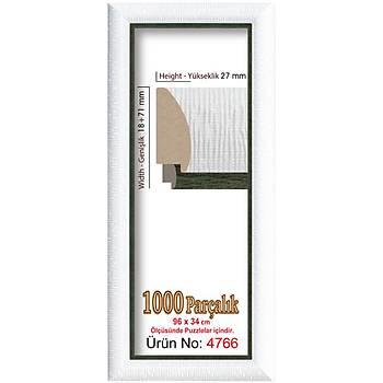 Heidi 1000 Parçalýk Panorama Puzzle Çerçevesi 34 X 96 Cm 4766