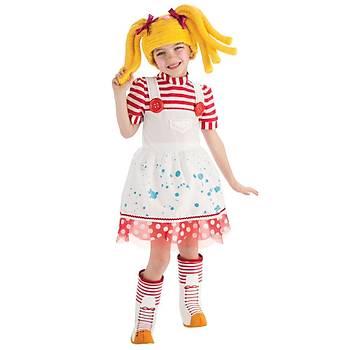 Lalaloopsy Çocuk Kostüm 3-4 Yaþ