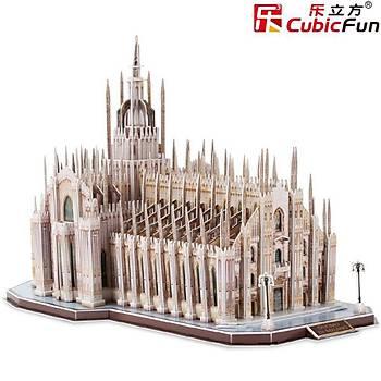 Cubic Fun 3D 251 Parca Puzzle Duomo Di Milano (Ýtalya)