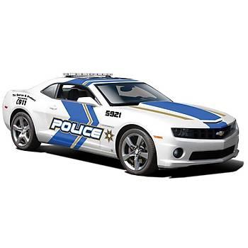 Maisto Chevrolet Camaro Rs 2010 Police 1:24 Model Araba S/E Beyaz