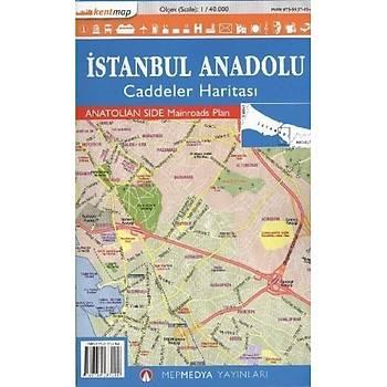 Ýstanbul Anadolu Caddeler Haritasý-KAMP. Mepmedya Yayýnlarý Kolektif Mepmedya Yayýnlarý
