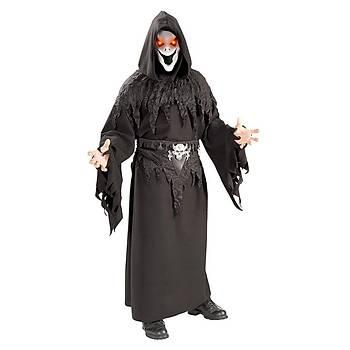 Hayalet Yetiþkin Kostüm Ve Iþýklý Maske