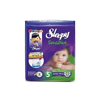 Sleepy Sensitive Pepee Junior Plus 5+ Numara  22 Adet