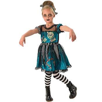 Frankie Girl Kýz Çocuk Kostümü 5-6  Yaþ