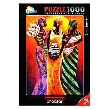 Anatolian 1000 Parça Puzzle Güneþin Kýzlarý