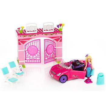 Mega Bloks Barbie Blok Araç ve Garaj Seti