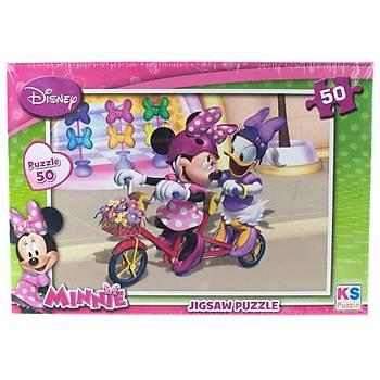KS Puzzle Minnie Çocuk Puzzle 50 Parça