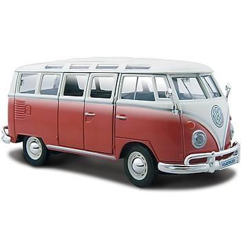 Maisto Volkswagen Van Samba 1:24 Model Araba S/E