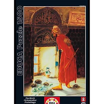Educa 1500 Parça Puzzle Kaplumbaða Terbiyecisi