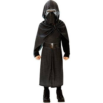Star Wars Episode 7 Kylo Ren Kostüm Lüks 7-8 Yaþ