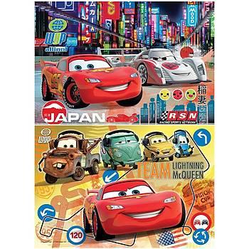 Clementoni Disney Cars 2x20 Parca Çocuk Puzzle
