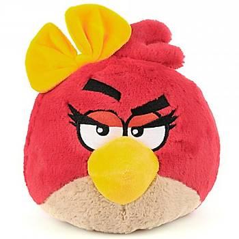 Angry Birds Kýz Sesli Peluþ 20 cm